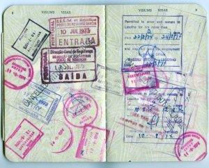 Mozambique trip. 1973.