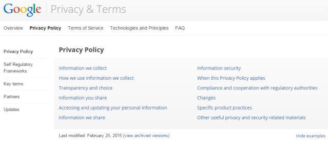 Google&Privacy